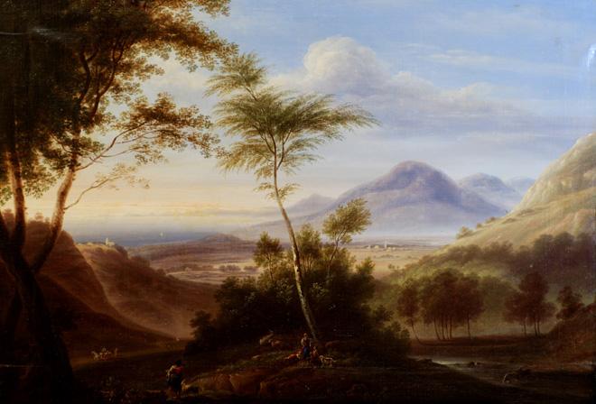van Ruysdael efter restaurering